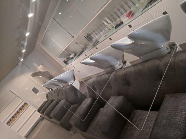 Hauchschutz mit Deckenabhängung 980x980